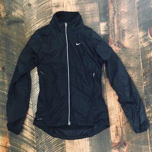 Women's Nike Black Raincoat
